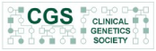 Clinical Genetics Society logo & link to website
