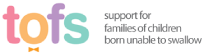 tofs - support for families of children born unable to swallow logo & link to website